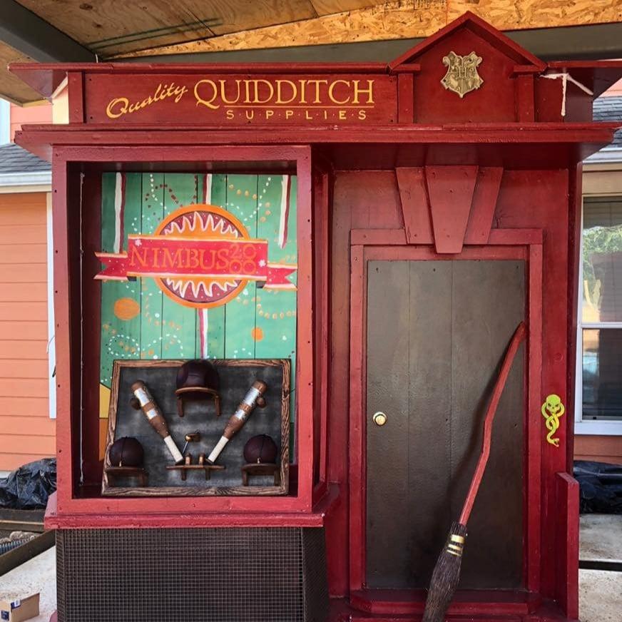 Family Creates Diagon Alley House