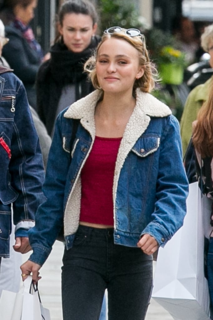 No One Pulls Off the '90s Look Like Lily-Rose Depp