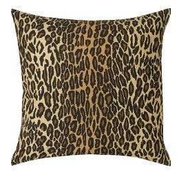 Leopard Square Pillow ($24.99)