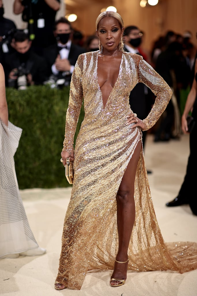 Mary J. Blige at the 2021 Met Gala