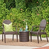 Dorsey Wicker Chat Set