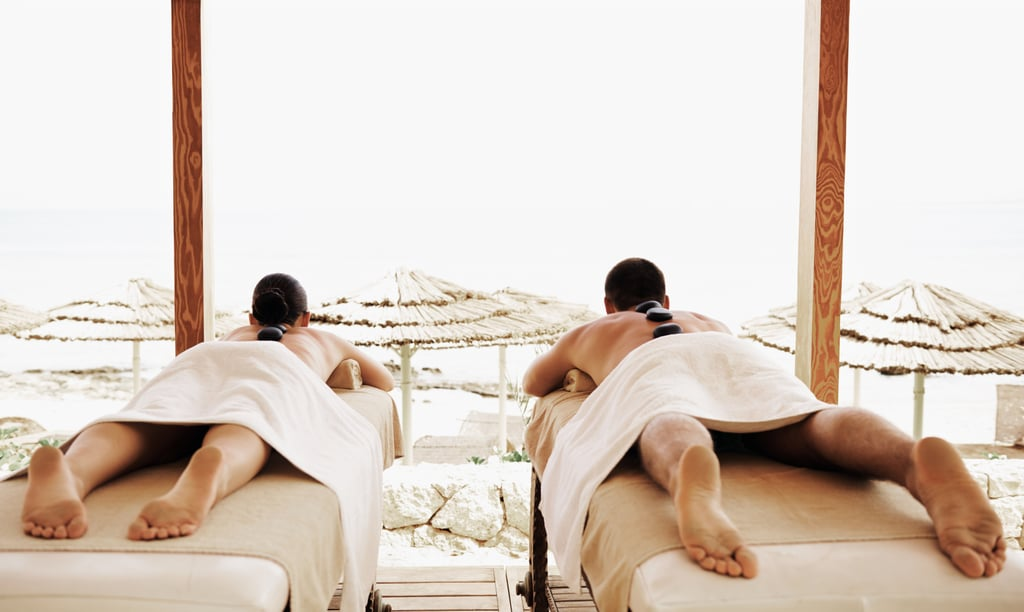 Get a Couples Massage by the Beach