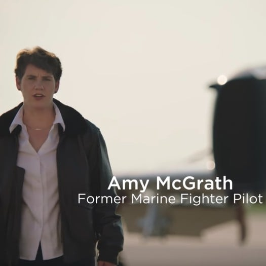 Marine Fighter Pilot Amy McGrath For Congress in Kentucky