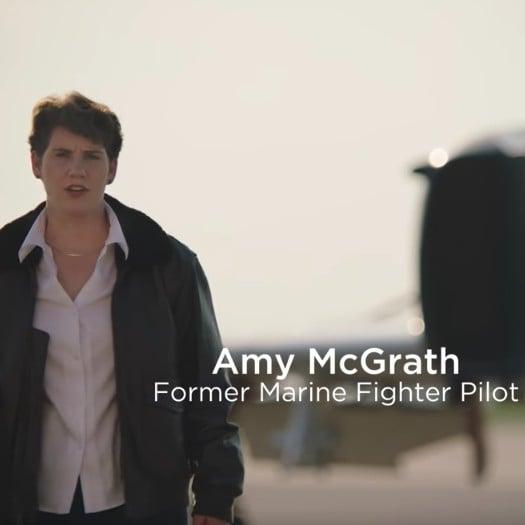 Marine Fighter Pilot Amy McGrath For Congress in Kentucky