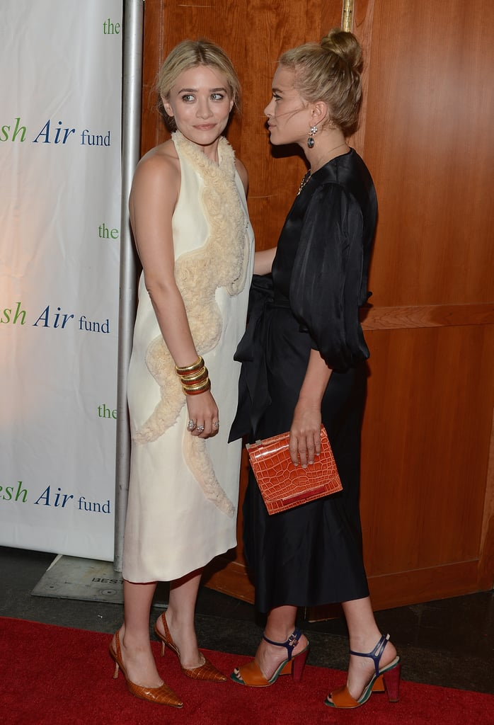 Mary-Kate Olsen and Ashley Olsen were out and about in NYC for the Fresh Air Fund's Spring Gala.