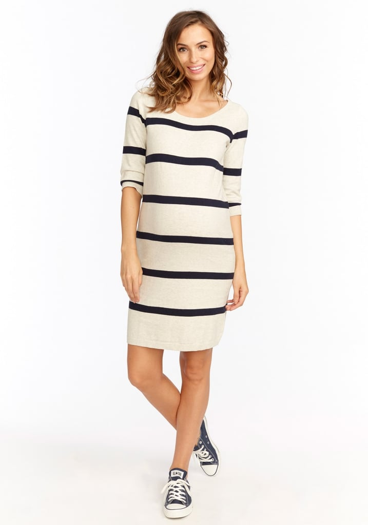 It's ultraplayful and as effortless as it gets, so you'll hope the Harper Dress by Rosie Pope ($148) outlasts week 42.