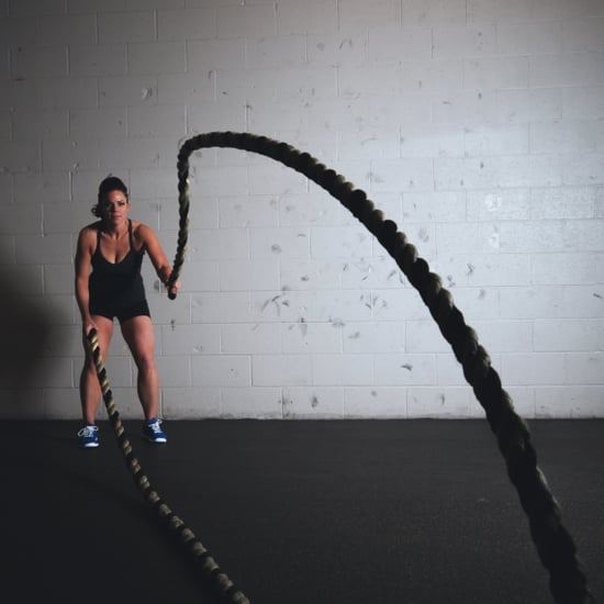 Battle Rope Workout For Arm and Abs
