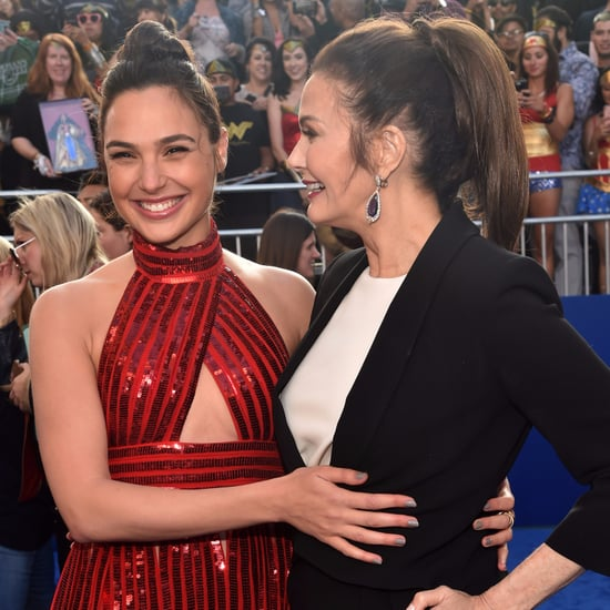 Gal Gadot and Lynda Carter at Wonder Woman Premiere 2017