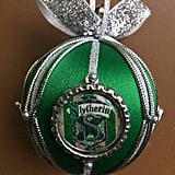 Slytherin Christmas Ornament