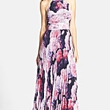Eliza J Floral Chiffon Maxi Dress (Regular & Petite) ($158)