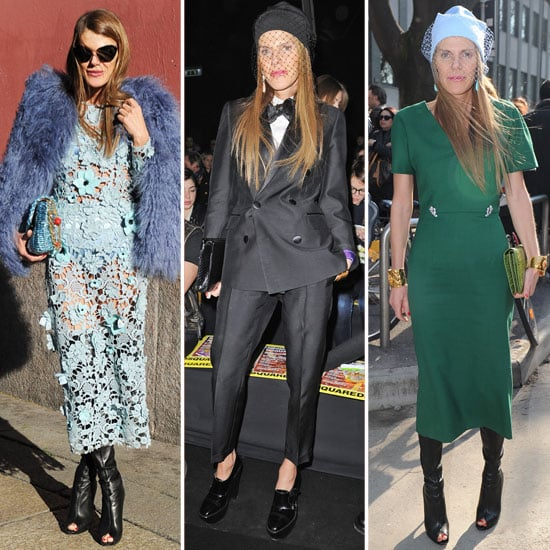 We Love Anna Dello Russo's Milan Fashion Week Style — See All of Her Looks Thus Far