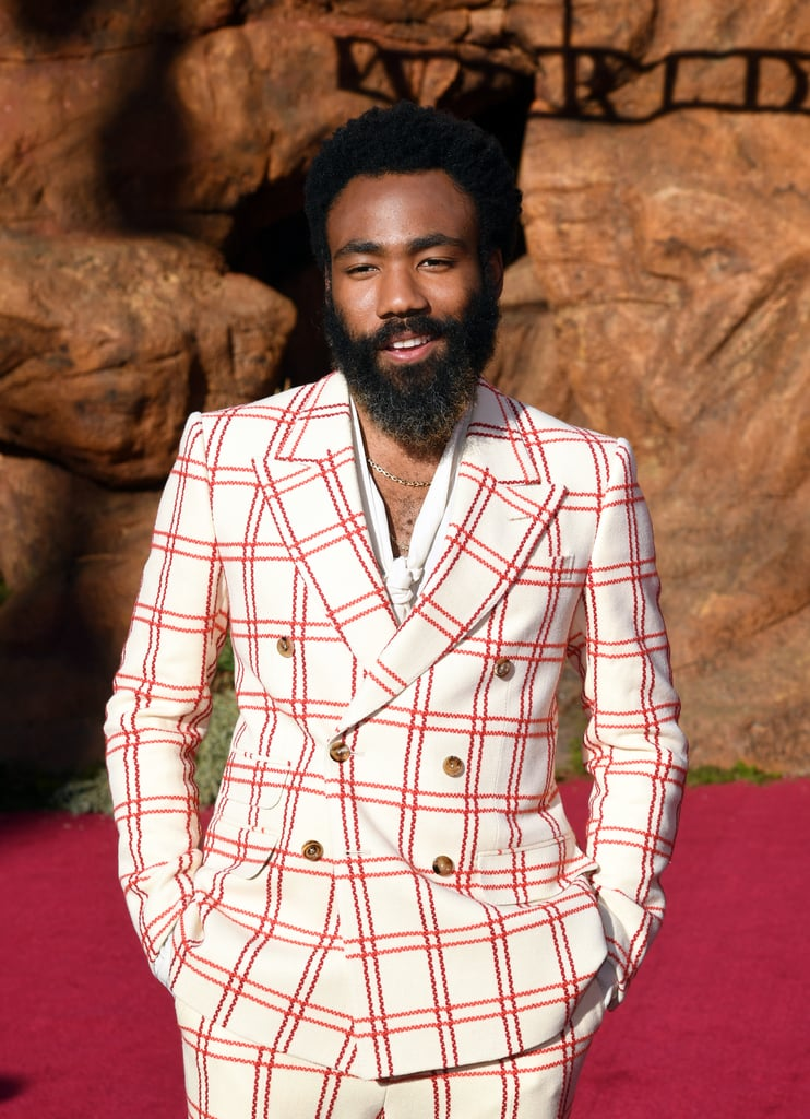 Pictured: Donald Glover at The Lion King premiere in Hollywood.