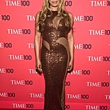 There is only one word to describe the actress's dress at the Time 100 Gala in April 2014: glam.
