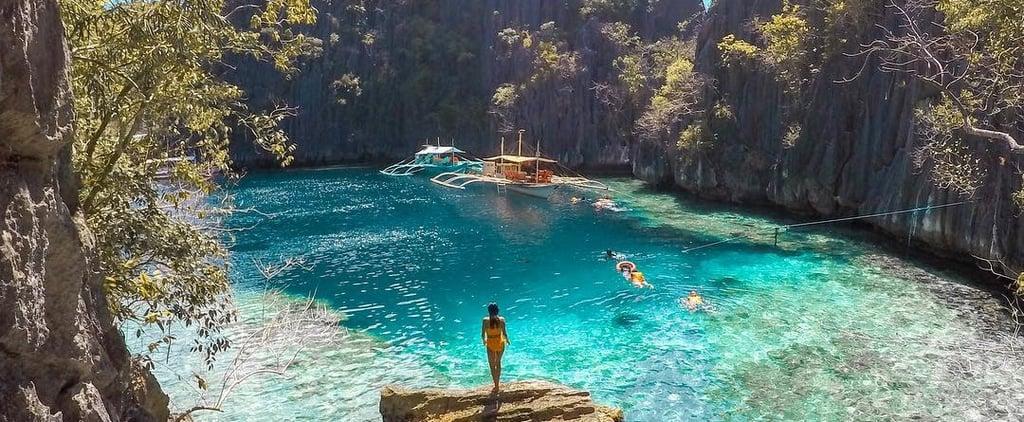 Twin Lagoon in Coron, Philippines