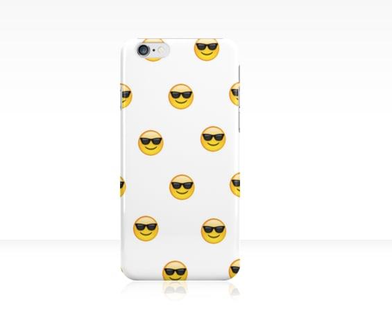 Sunglasses Emoji Phone Case  ($25)