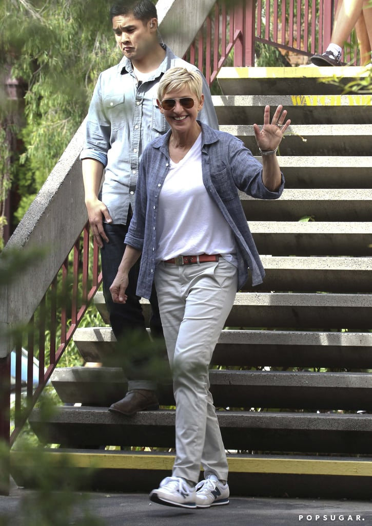 Ellen and Portia Take a Walk Down Memory Lane in Melbourne