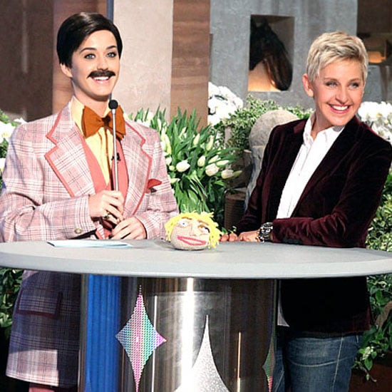 Katy Perry Dresses in Drag on Ellen DeGeneres Show (Video)