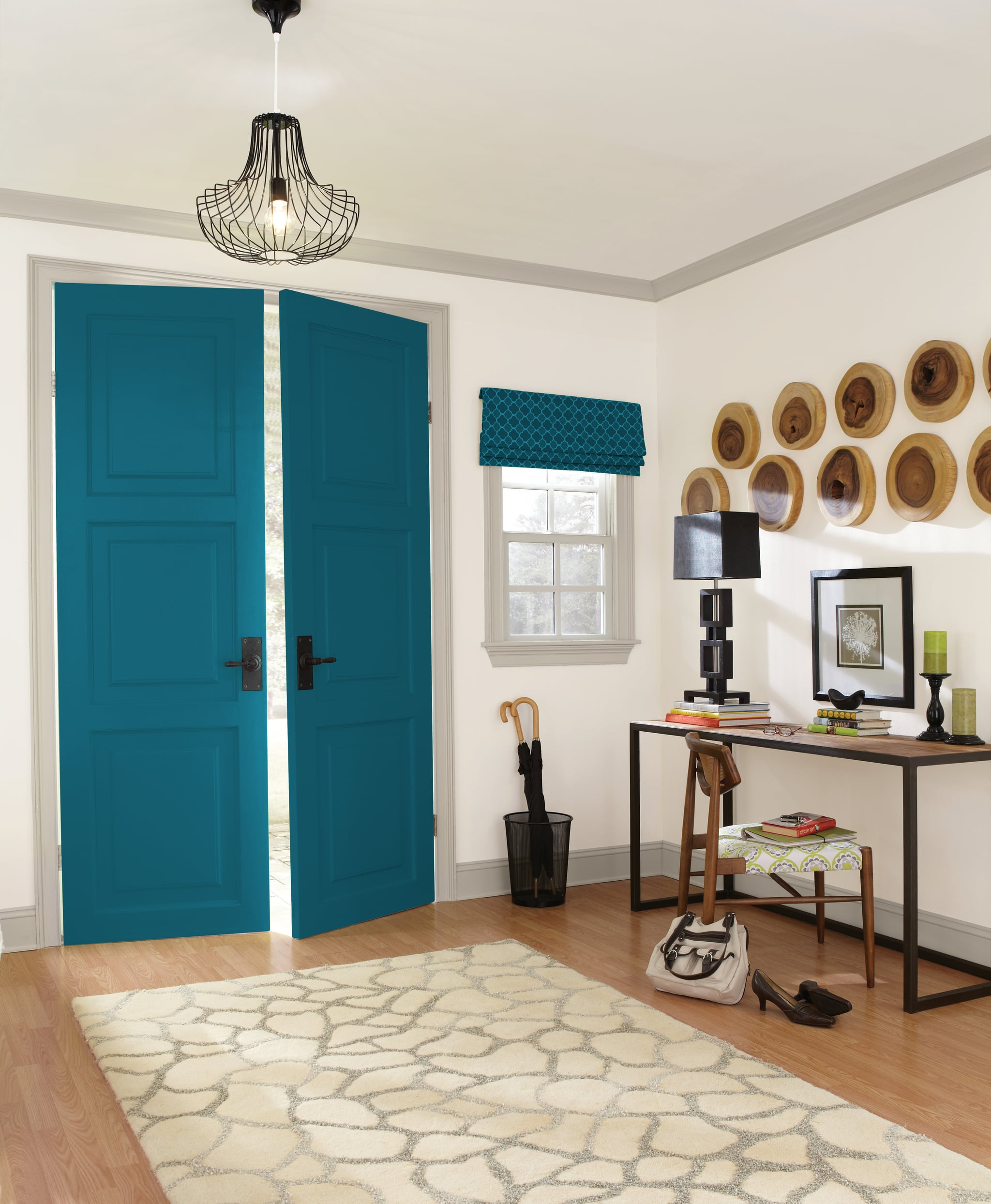 Oceanside Sherwin Williams Paint Color 2018 Popsugar Home