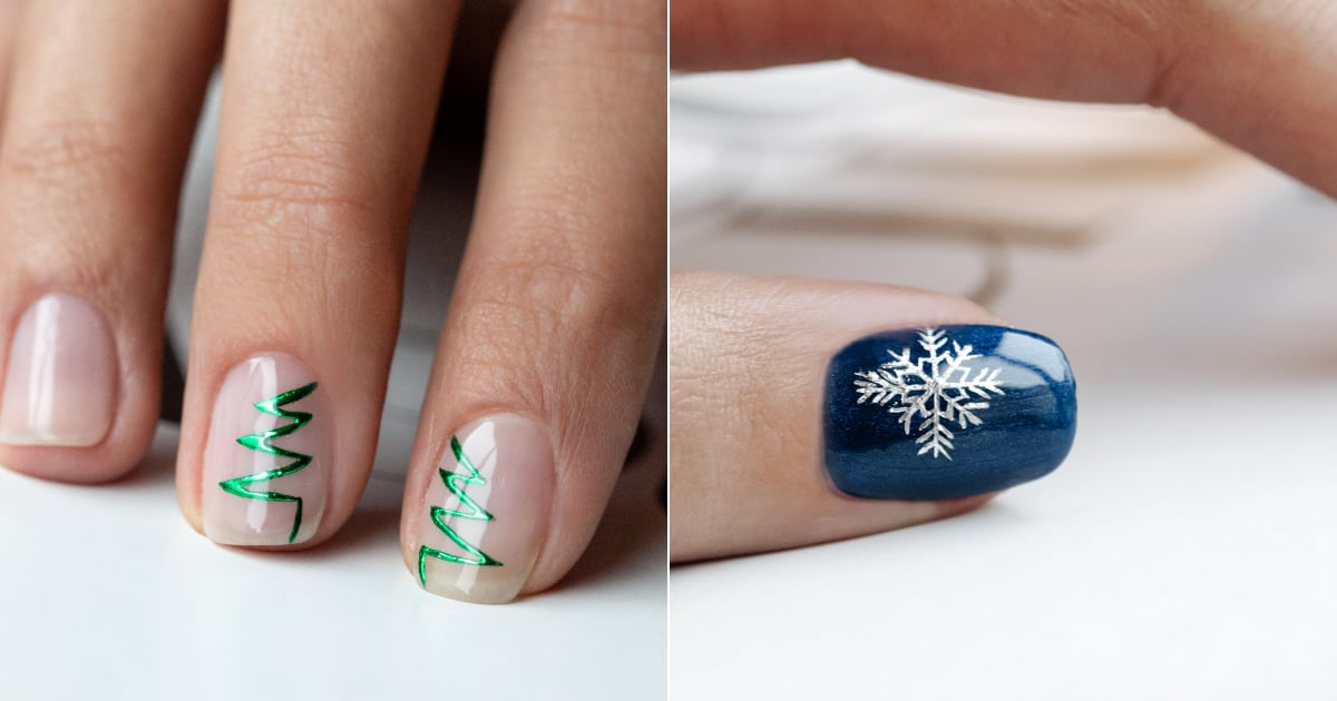 DryBy 2019 Christmas Nail Art Winter Collection