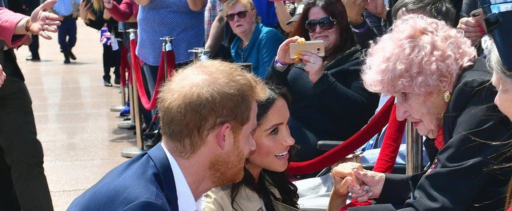 Prince Harry Meets Australian Fan