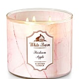 Heirloom Apple candle ($25)