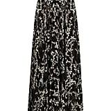 Giambattista Valli Floral-Print Pleated Maxi Skirt