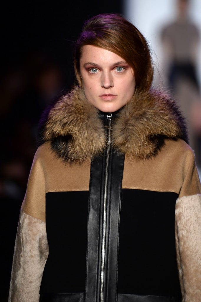 Berry Eyes and Sideswept Hair Dominate BCBG Max Azria's Runway