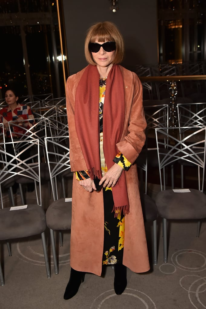 Anna Wintour at the Prabal Gurung Fall 2020 Show