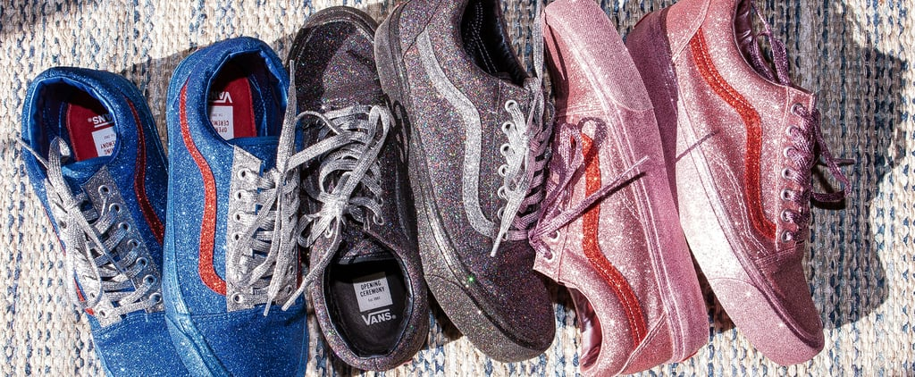 These Glittery Vans Are Here to Put All of Your Other Sneakers to Shame
