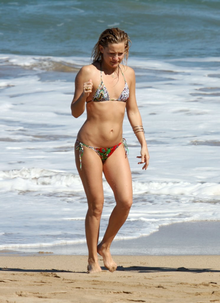 She took a vacation to Maui in January 2009.