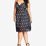 City Chic Trendy So Fancy Lace Dress