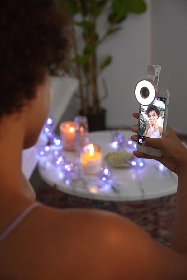 Perfect Selfie Ring Light and Lens