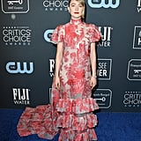 Saoirse Ronan's Erdem Dress at Critics' Choice Awards 2020