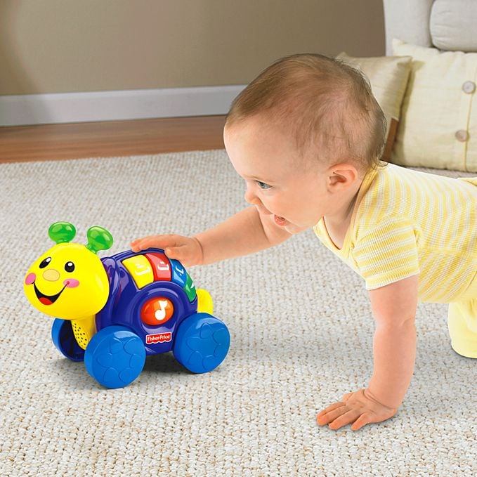 Fisher Price's Laugh & Learn Roll Around Snail