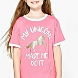 My Unicorn Made Me Do It Tee