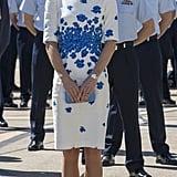 Back in 2014, Kate Wore the Same Dress in Australia