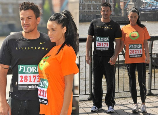 24/4/2009 Jordan and Peter London Marathon