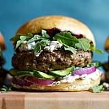 Mediterranean-Spiced Lamb Burger