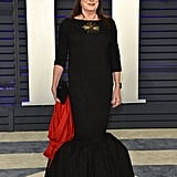 Anjelica Huston at the 2019 Vanity Fair Oscar Party