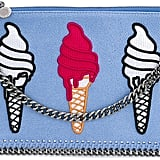Stella McCartney Ice-Cream Embroidered Surf Falabella Bag