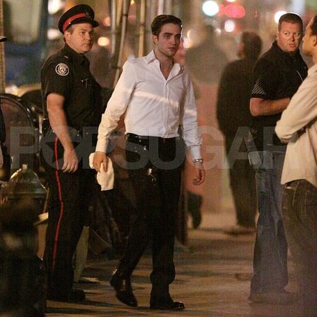Robert Pattinson Pictures With Pie on His Face in Toronto