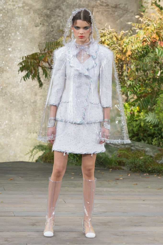 Surprise! Chanel Spring Comes With Rain Boots and Tie-Dye