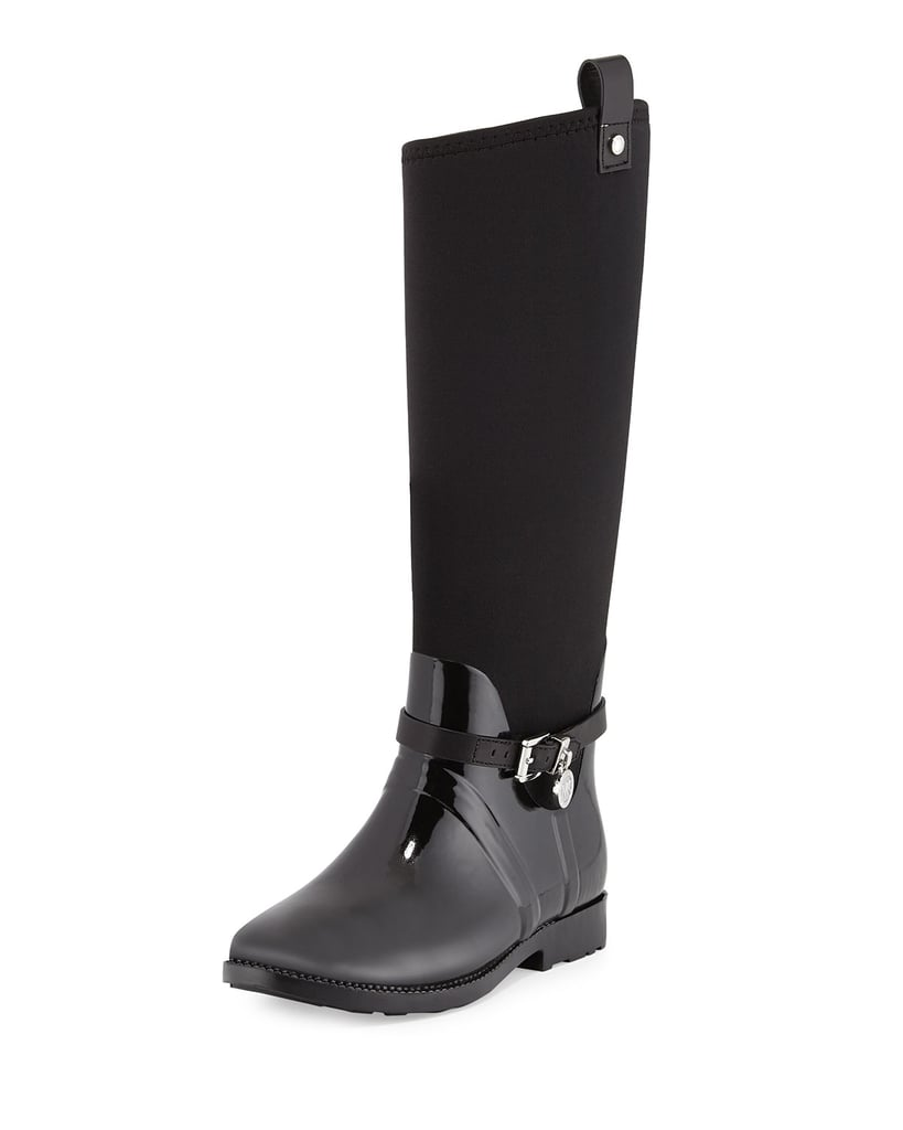 These rain boots from Michael Kors ($285) are ones you can wear daily.