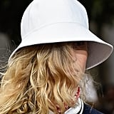 A Hat on the Michael Kors Collection Runway During New York Fashion WeekABlet