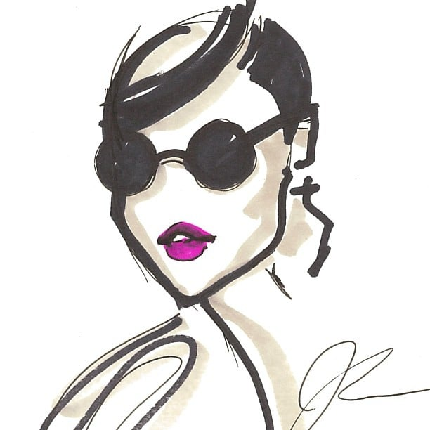 Jason wu designer sketches from new york fashion week for Jason wu fashion designer