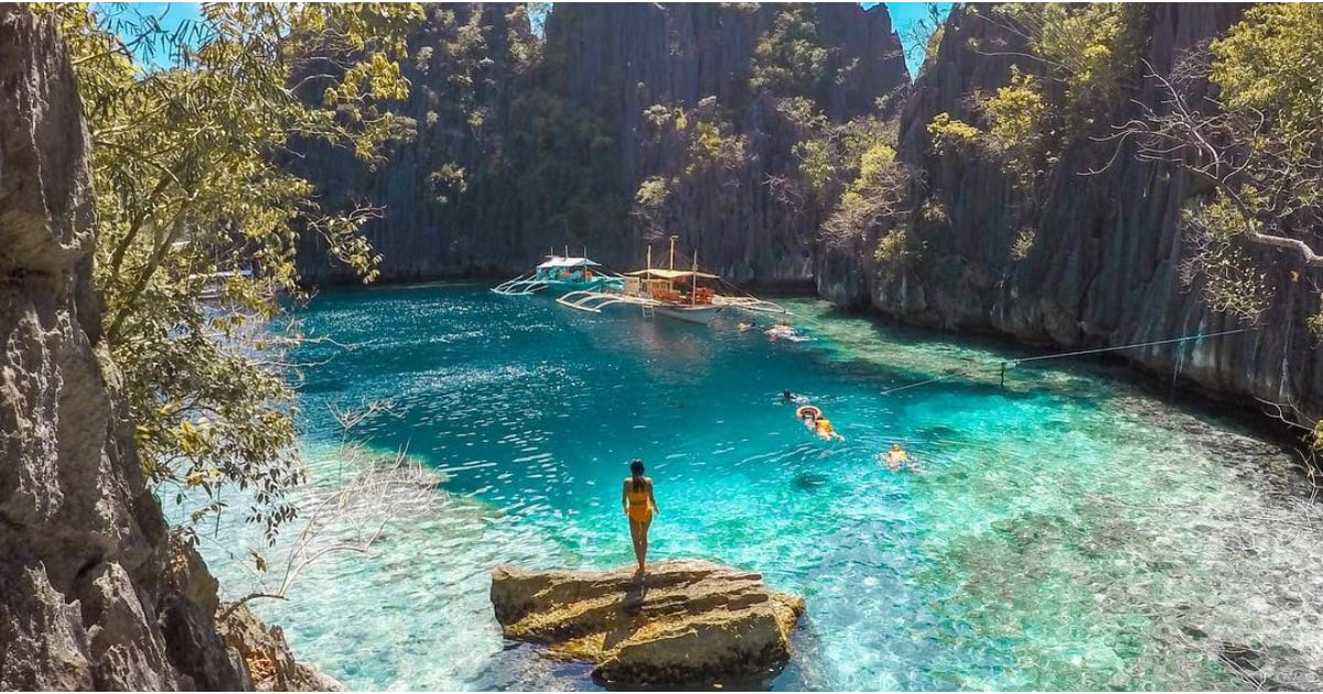 There's a Hidden Lagoon in the Philippines — and It's Like Something Out of a Dream