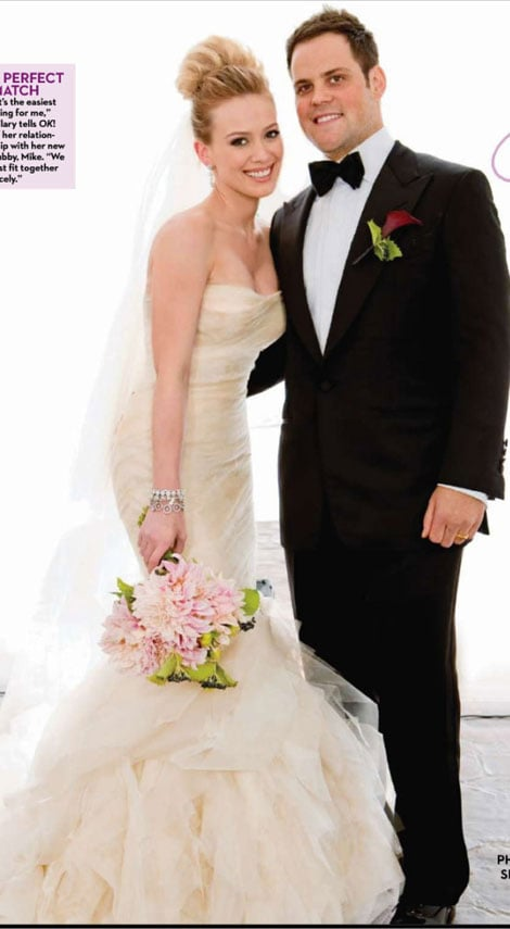 Hilary Duff\'s Vera Wang Wedding Dress | POPSUGAR Celebrity