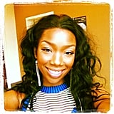 Brandy Norwood smiled for the camera. Source: Instagram user 4everbrandy