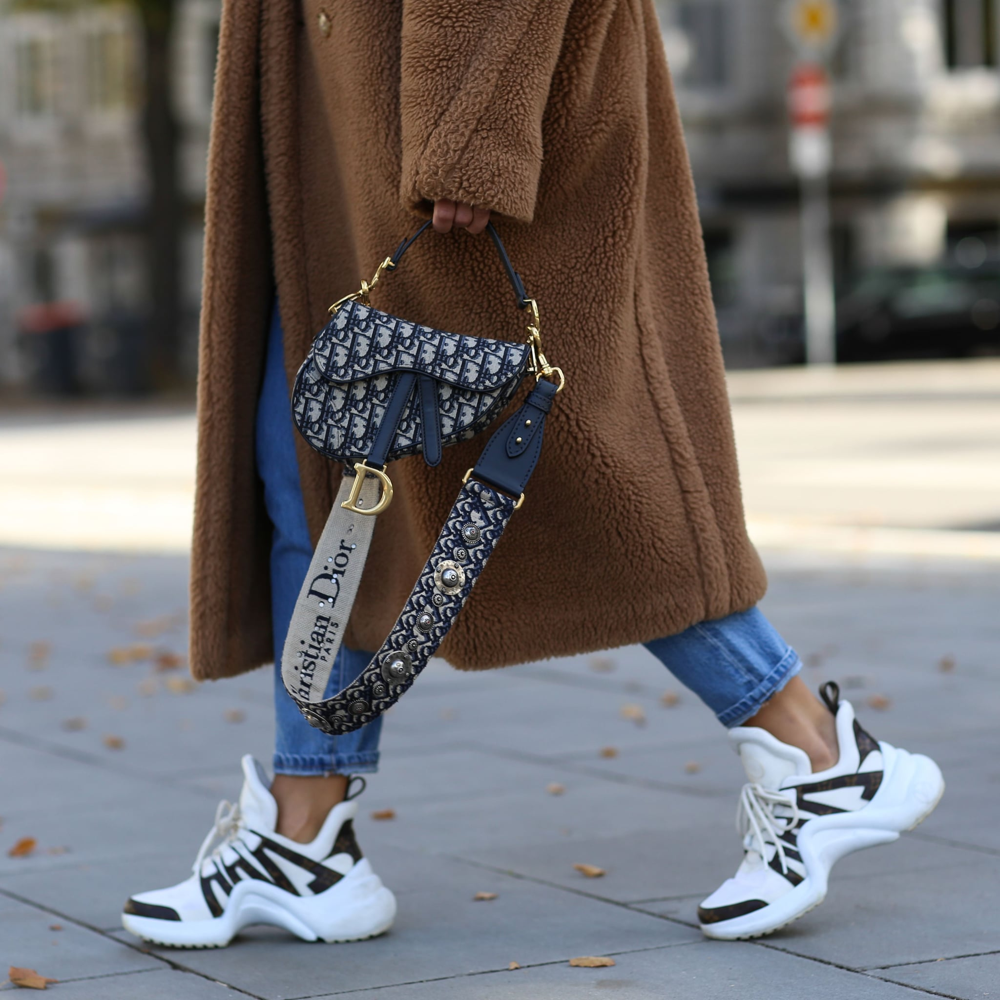 How to Wear Sneakers in the Winter POPSUGAR Mode  POPSUGAR Fashion