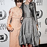 Cate posed with Blue Jasmine costar Sally Hawkins.